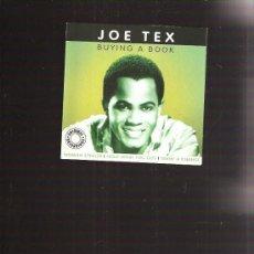 CDs de Música: JOE TEX. Lote 30744352