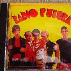 CDs de Música: RADIO FUTURA MUSICA MODERNA CD PRIMERA EDICION HISPAVOX ENRIQUE SIERRA SANTIAGO AUSERON LUIS AUSERON. Lote 30756858