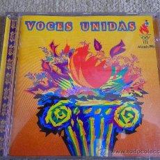 CDs de Música: VOCES UNIDAS JUEGOS OLIMPICOS ATLANTA 1996 CD TEMA INEDITO MARTA SANCHEZ, JULIO IGLESIAS, THALIA. Lote 198687930