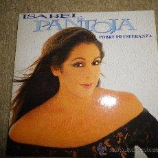 CDs de Música: ISABEL PANTOJA POBRE MI ESPERANZA CD SINGLE PROMOCIONAL DE CARTON AÑO 1996 ROBERTO LIVI 1 TEMA. Lote 30761997