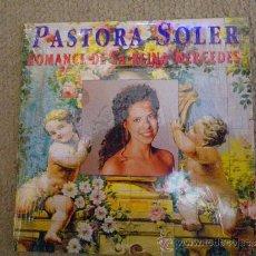 CDs de Música: PASTORA SOLER ROMANCE DE LA REINA MERCEDES CD SINGLE PROMOCIONAL CARTON AÑO 1994 1 TEMA LUIS SANZ. Lote 30799339
