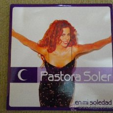 CDs de Música: PASTORA SOLER EN MI SOLEDAD CD SINGLE PROMOCIONAL DE CARTON AÑO 2001 CARLOS JEAN 1 TEMA. Lote 106008019