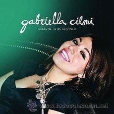 CDs de Música: GABRIELLA CILMI CON SU TREMENDO ÁLBUM LESSONS TO BE LEARNED. Lote 30810983