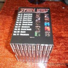 CDs de Música: SPAIN KILLS BOX CAJA 10 CD DEATH BLACK THRASH DOOM METAL...AVULSED REDIMONI LEGEN BELTZA.... Lote 156812597
