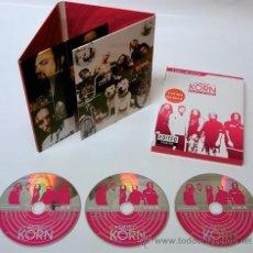 CDs de Música: KORN * 3 CD DIGIPACK * EDITED VERSION * BOX SET SERIES * RARE * PRECINTADO. Lote 39727427
