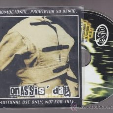 CDs de Música: ONASSIS DAY - CD PROMO - NUMBER - HEAVY SPEED METAL. Lote 30884022