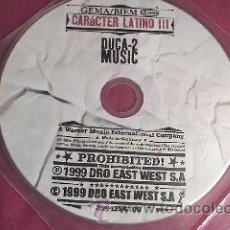 CDs de Música: CARACTER LATINO III DUCA MUSIC 2.1999. Lote 30887815