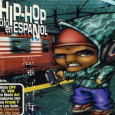 CDs de Música: HIP-HOP EN ESPAÑOL - TRIPLE CD 2001. Lote 30900317