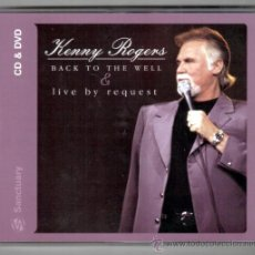 CDs de Música: KENNY ROGERS * CD + DVD * BACK TO THE WELL + LIVE BY REQUEST * FORMATO ESPECIAL * LTD * PRECINTADO. Lote 206409805