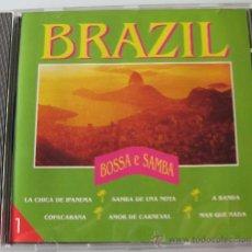 CDs de Música: BRAZIL - BOSSA E SAMBA - CD - TECNO 1993 - CHICO BUARQUE / VICTOR DE PALMA - COMO NUEVO. Lote 31170479