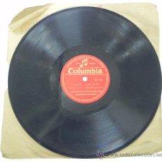 CDs de Música: ANTIGUO DISCO DE PIZARRA DE CARMEN MORELL, CANCIONES LA SEÑORA DEL CORREGIDOR Y LUZ Y COLOR, 78 RPM.. Lote 31068034