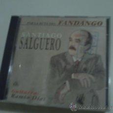 CDs de Música: CD ALBUM / SANTIAGO SALGUERO / POR LA RUTA DEL FANDANGO. PEPETO. Lote 31090642