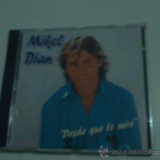 CDs de Música: MIKEL DIAN /DESDE QUE TE MIRE /CD ALBUM. Lote 119180420