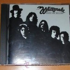 CDs de Música: WHITESNAKE - READY AND WILLING. Lote 34955543