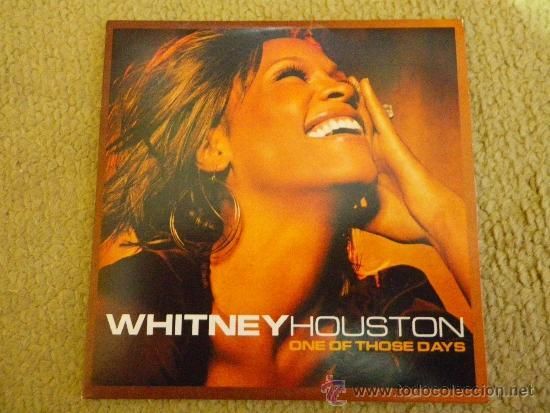 WHITNEY HOUSTON ONE OF THOSE DAYS CD SINGLE PROMOCIONAL DE CARTON DEL AÑO 2002 1 TEMA (Música - CD's Pop)