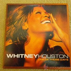 CDs de Música: WHITNEY HOUSTON ONE OF THOSE DAYS CD SINGLE PROMOCIONAL DE CARTON DEL AÑO 2002 1 TEMA. Lote 31134915