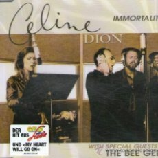 CDs de Música: CELINE DION & THE BEE GEES - CD SINGLE 4 TRACK - INMORTALITY + MY HEART WILL GO ON (TITANIC) - 1997.. Lote 31140685
