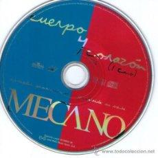 CDs de Música: MECANO - CD SINGLE PROMOCIONAL - UN TEMA: CUERPO Y CORAZÓN - EDITADO EN ESPAÑA - AÑO 1998. Lote 31140755