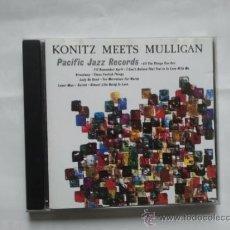 CDs de Música: KONITZ MEETS MULLIGAN PACIFIC JAZZ RECORDS CD. Lote 31156536