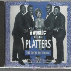 CDs de Música: PLATTERS - THE WORLD OF THE PLATTERS - CD. Lote 31173666