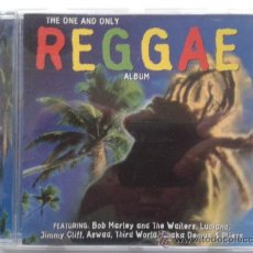 CDs de Música: THE ONE AND ONLY REGGAE ALBUM - IMPECABLE. Lote 31181973