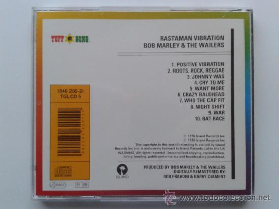 CDs de Música: RASTAMAN VIBRATION BOB MARLEY AND THE WAILERS - CD - IMPECABLE - Foto 2 - 31183568