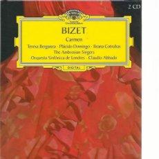CDs de Música: BIZET - CARMEN - GRAN SELECCIÓN DEUTSCHE GRAMMOPHON Nº 27 - 2 CDS + LIBRO. Lote 31199233