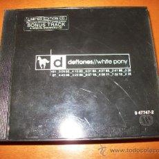 CDs de Música: CD DEFTONES - WHITE PONY - LIMITED NUMBERED EDITION #44276 DE 50000. Lote 31251115