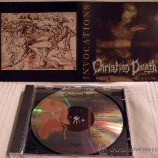 CDs de Música: CHRISTIAN DEATH INVOCATIONS CD. Lote 31272143