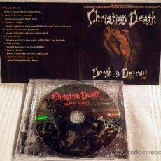 CDs de Música: CHRISTIAN DEATH DEATH IN DETROIT CD. Lote 31272159