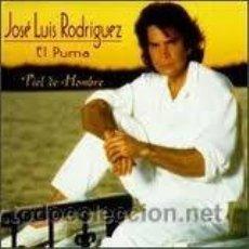 CDs de Música: JOSE LUIS RODRIGUEZ EL PUMA-PIEL DE HOMBRE-(CANCIONES DE MANUEL ALEJANDRO)(TORERO CON JULIO IGLESIAS. Lote 125447922
