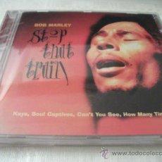 CDs de Música: CD BOB MARLEY, STOP THE TRAIN, 16 TEMAS, RARO CD CON TEMAS DE LOS AÑOS 70, NUEVO. Lote 31287461