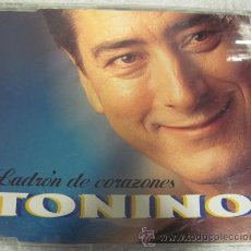 CDs de Música: TONINO - LADRON DE CORAZONES - CDSINGLE 2 VERSIONES. Lote 31302704