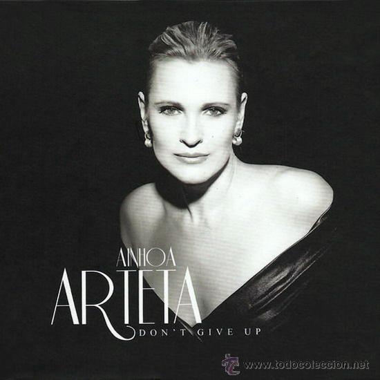 ainhoa arteta * don't give up * ltd libro cd *