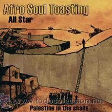 CDs de Música: AFRO SOUL TOASTING ALL STAR PALESTINE IN THE SHADE CD. Lote 31341455