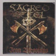 CDs de Música: SACRED STEEL - CD PROMO - IRON BLESSINGS - HEAVY SPEED POWER METAL. Lote 31378254