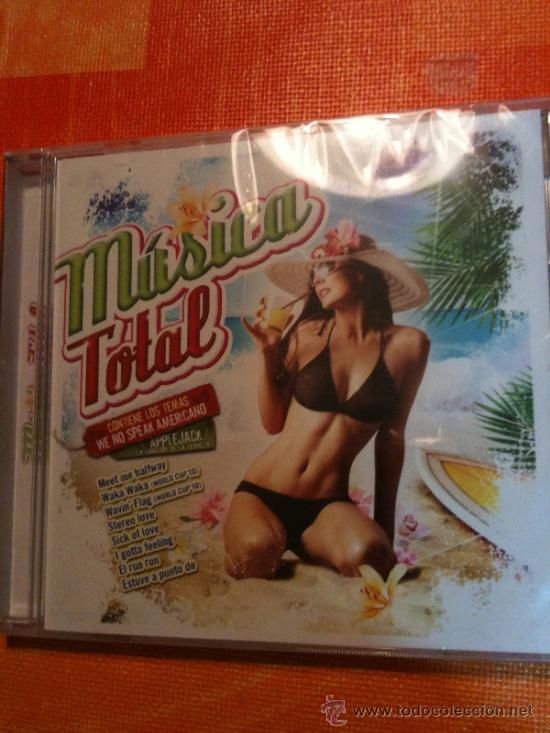 CD MUSICA TOTAL-ÉXITOS VERANIEGOS IMPRESCINDIBLES-NUEVO Y PRECINTADO PARA ESTRENAR (Música - CD's Latina)