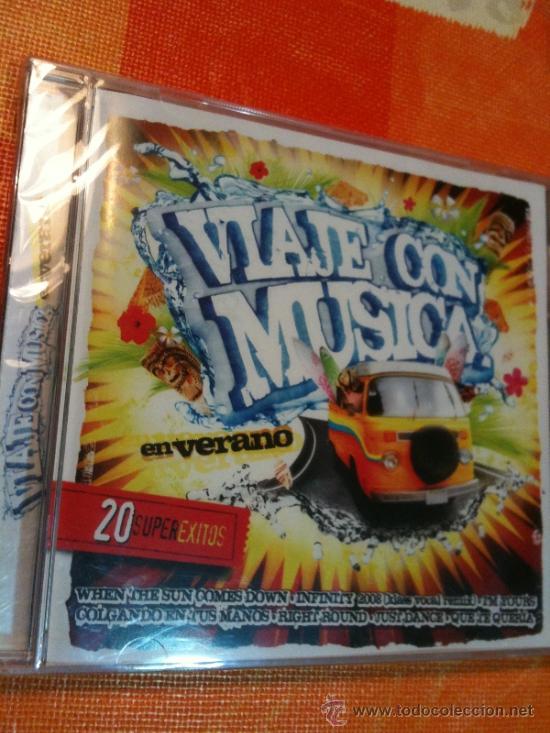 CD VIAJE CON MUSICA 20 SUPER ÉXITOS VERANIEGOS IMPRESCINDIBLES NUEVO Y PRECINTADO PARA ESTRENAR (Música - CD's Latina)