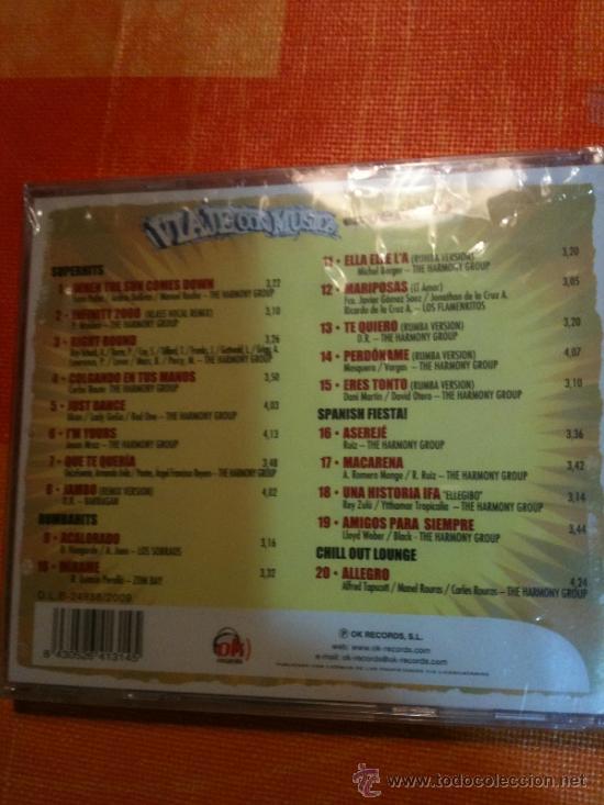CDs de Música: CD VIAJE CON MUSICA 20 SUPER ÉXITOS VERANIEGOS IMPRESCINDIBLES NUEVO Y PRECINTADO PARA ESTRENAR - Foto 2 - 31612944