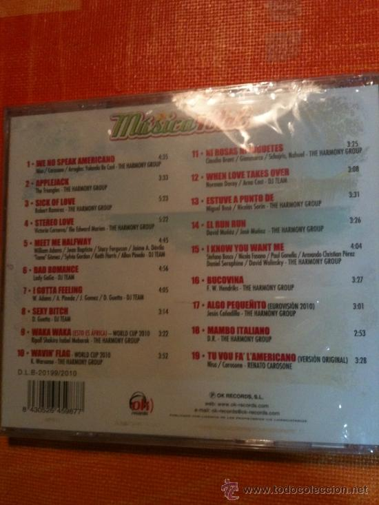 CDs de Música: CD MUSICA TOTAL-ÉXITOS VERANIEGOS IMPRESCINDIBLES-NUEVO Y PRECINTADO PARA ESTRENAR - Foto 2 - 31612915
