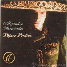CDs de Música: ALEJANDRO FERNANDEZ PROMO CD SINGLE PAJARO PERDIDO. Lote 31418003