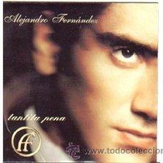 CDs de Música: ALEJANDRO FERNANDEZ PROMO CD SINGLE TANTITA PENA. Lote 31418014