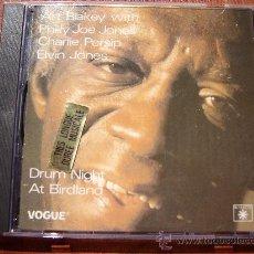 CDs de Música: ART BLAKEY - DRUM NIGHT AT BIRDLAND CD . Lote 31428613