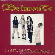 CDs de Música: BELMONTE / CACHETE, PECHITO Y OMBLIGO (CD SNGLE CARTON 1996). Lote 31507171