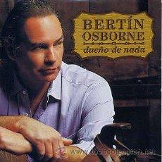 CDs de Música: BERTIN OSBORNE / DUEÑO DE NADA (CD SINGLE CARTON 2002). Lote 31507374