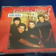 CDs de Música: GITANO BOYS ANNA MARIA CD SINGLE PORTADA DE PLASTICO AÑO 1992 REMIXES 4 TEMAS. Lote 31524430