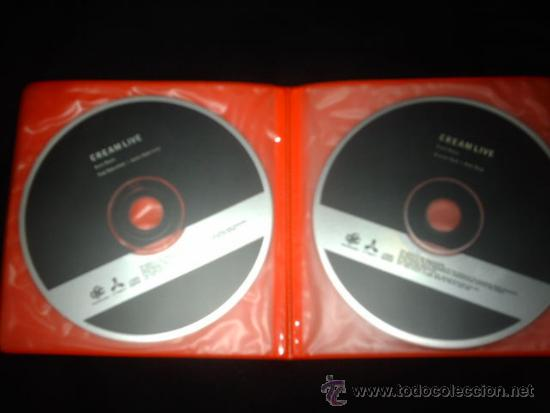 CDs de Música: Cream Live 2 cds - Foto 2 - 31526210