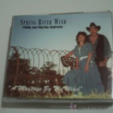 CDs de Música: SPRING RIVER WIND /PHILLID AND MARTHA ANDREWS / A MESSAGE BY THE WIND/CD ALBUM 1994. Lote 31538631