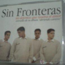 CDs de Música - SIN FRONTERAS NO DEJEMOS QUE MUERA EL AMOR / CD SINGLE PROMO 1997 - 31534782
