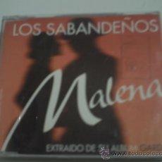 CDs de Música: LOS SABANDEÑOS / MALENA (CD SINGLE 1997) PEPETO. Lote 31535295